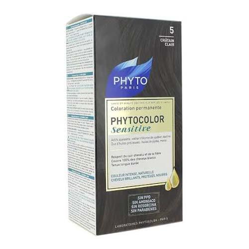 Phytocolor Sensitive Color 5 Castaño Claro