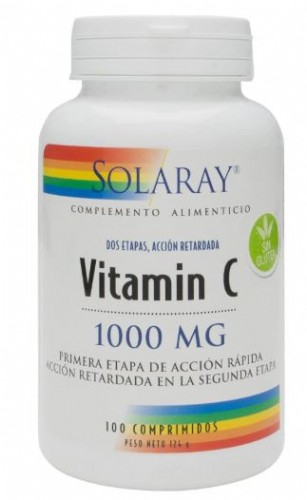 Solaray vit c 1000mg 100comp