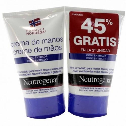 Duplo neutrogena manos