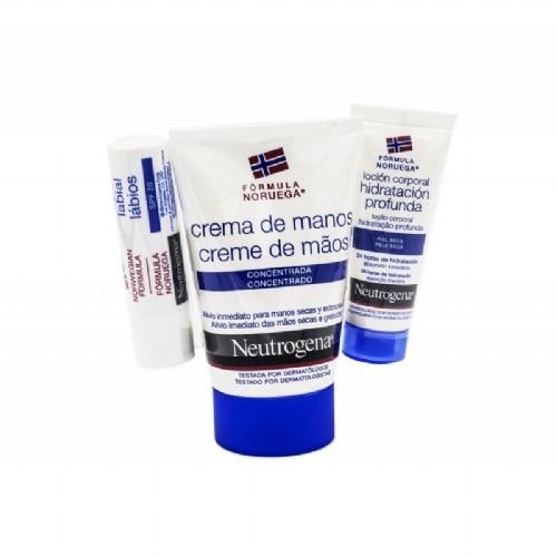 Pack neutrogena manos+ labios