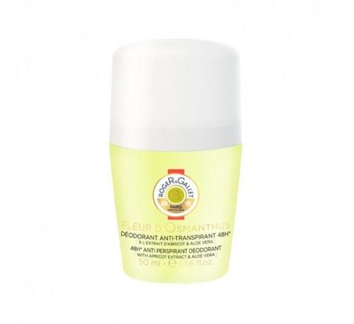 Roger & gallet desodorante antitranspiratnte 48h - fleur d'osmanthus (50 ml)