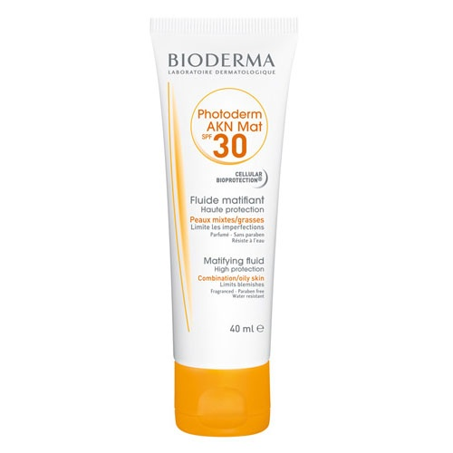 Photoderm akn spf 40 mat fluido - bioderma (40 ml)