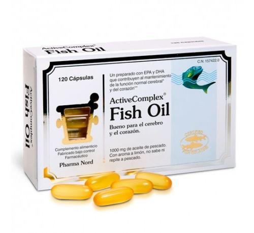 Activecomplex fish oil (120 capsulas)