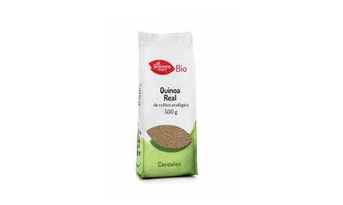 Quinoa real grano eco el granero 500g