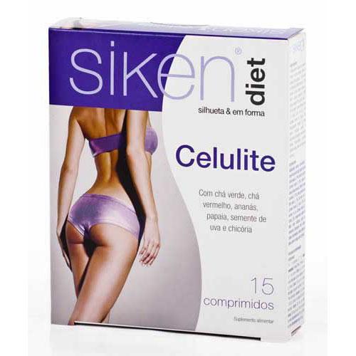 Siken diet celulitis (15 comp)