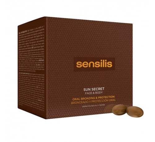 Sensilis sun secret proteccion oral (30 comprimidos)