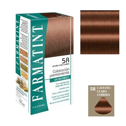 Farmatint (135 ml castaño claro cobrizo)