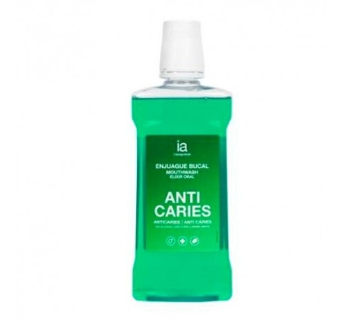 Interapothek enjuague bucal anticaries (500 ml)