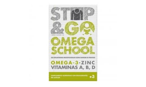 Stop & go omega school (30 gelatinas)