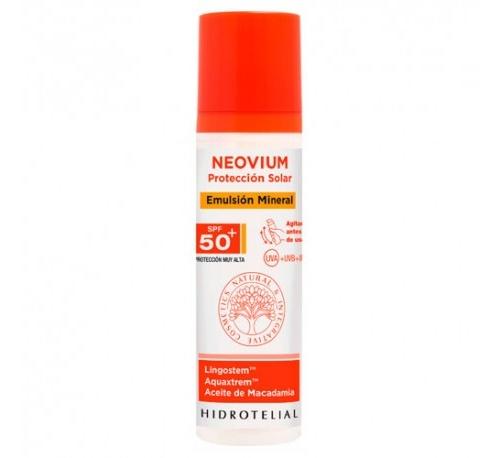 Hidrotelial neovium emulsion spf 50+ - filtro mineral piel seca y atopica (100 ml)