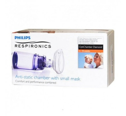 Optichamber diamond - camara de inhalacion con mascarilla (neonatos  s ref 1079822)