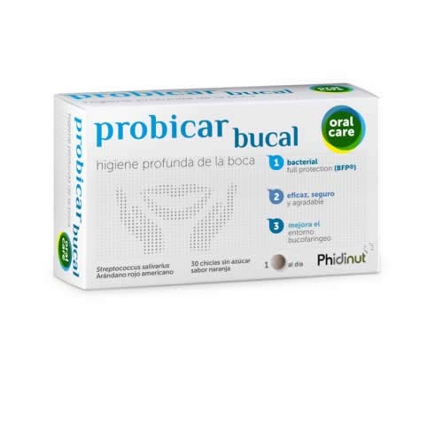 Probicar chicle sin azucar (30 pastillas)