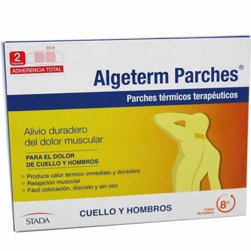 Algeterm parche termico (cuello y hombro 2 uds)