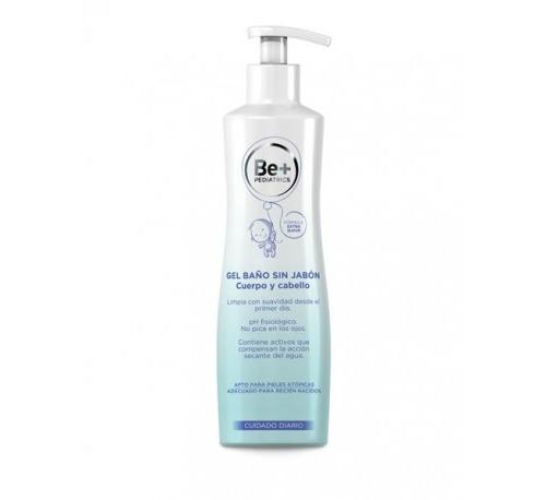 Be+ pediatrics gel de baño cuerpo/cabello sin jabon (500 ml)