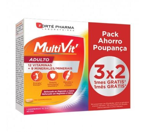 Multivit adulto (84 comprimidos masticables)