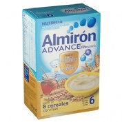 Almiron advance 8 cereales miel 600 g.