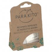 Para`kito pulsera repelente insectos (couleur recambio 2 pastillas)