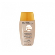 Photoderm nude spf 50+ - bioderma (color dorado 40 ml)