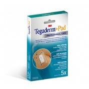 Tegaderm + pad - aposito esteril (5 x 7,2 cm 5 u)