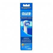 Cepillo dental electrico recargable - oral-b precision clean eb20rb (recambio 3 unidades)