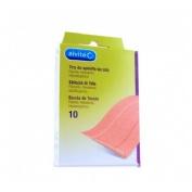 Alvita - aposito adhesivo tela (10 x 6 cm 10 tiras)
