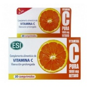 Vitamina c pura retard (1000 mg 30 comp)