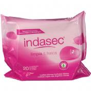 Indasec toallitas higiene intima (20 toallitas)