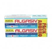 Algasiv crema adhesiva dentadura postiza (pack 40 g 2 u)