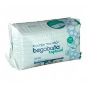 Begobaño esponja enjabonada desechable (30 esponja)
