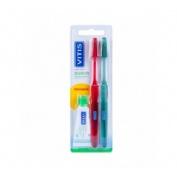 Vitis Duplo Cepillo Dental Suave