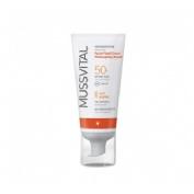 Mussvital crema facial fluid reparadora de - fotoenvejecimiento (50 ml)