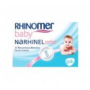 Narhinel confort aspirador recambio (20 blando desechable)