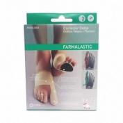 Corrector doble juanetes y plantar - farmalastic feet (pie dcho t- med)