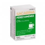 Sacarina perez gimenez (100 comp)