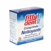 Fittydent limpiador protesis dental 32 u