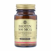 Solgar biotina 300 mcg 100 comp