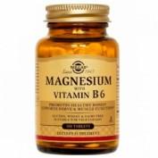 Solgar magnesio + b6 100 comp