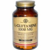 Solgar l glutamina 1000 mg 60 comp