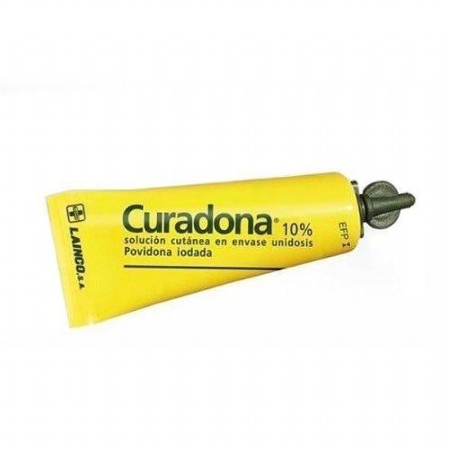 CURADONA 10% SOLUCION CUTANEA EN ENVASE UNIDOSIS, 200 envases unidosis de 5 ml
