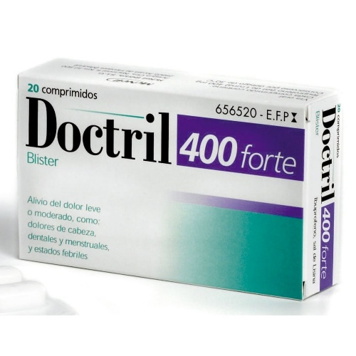 DOCTRIL 400 FORTE BLISTER, 20 comprimidos