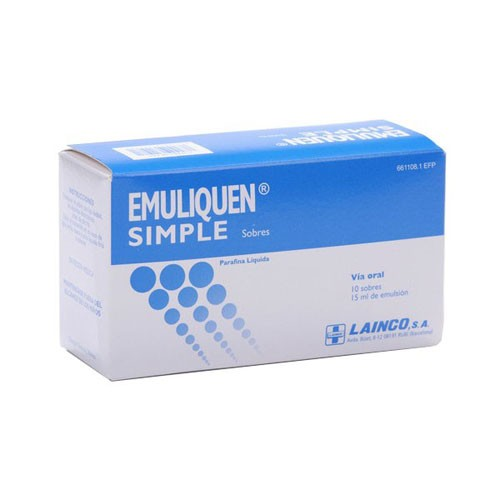 EMULIQUEN SIMPLE 7.173,9 mg EMULSION ORAL EN SOBRES , 200 sobres de 15 ml