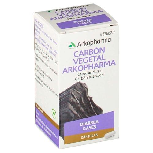 CARBÓN VEGETAL ARKOPHARMA CÁPSULAS DURAS , 50 cápsulas