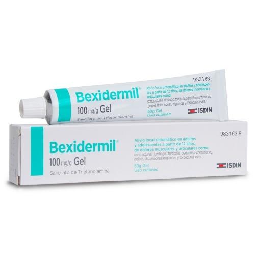 BEXIDERMIL 100 mg/g GEL , 1 tubo de 50 g