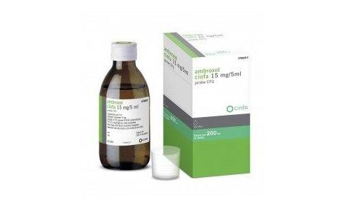 AMBROXOL CINFA 15 mg/5 ml JARABE EFG,Frasco de 200 ml (PET)