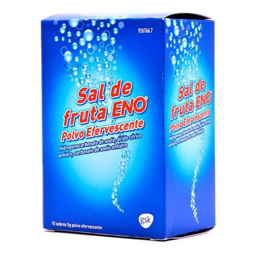 SAL DE FRUTA ENO POLVO EFERVESCENTE , 10 sobres