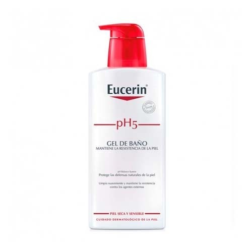 Eucerin piel sensible ph-5 gel de baño (400 ml)