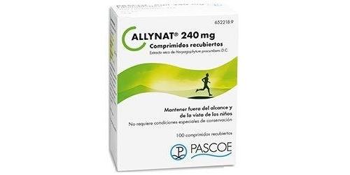 ALLYNAT 240 mg COMPRIMIDOS RECUBIERTOS, 100 comprimidos