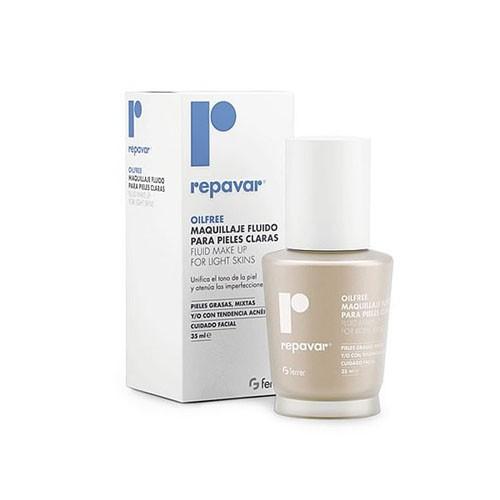 Repavar oilfree maquillaje fluido piel clara 35