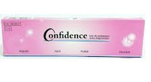 Confidence test de embarazo (1 u)