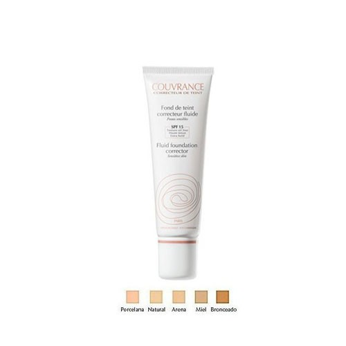 AVENE COUVRANCE MAQUILLAJE FLUIDO (30 ML NATURAL)